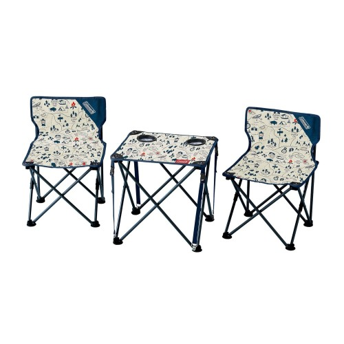 COLEMAN CHAIR TABLE COMPACT CAMP MAP JAPAN